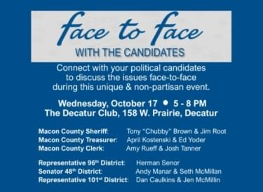 Candidate face to face 101618