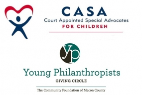 Macon County CASA Wins Young Philanthropists Grant