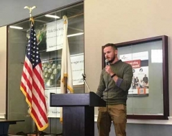 Marine Veteran and Richland Student Stresses Importance of Veterans Day