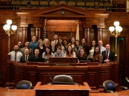 Manar Welcomes Local Leadership Group to Springfield