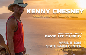 Kenny Chesney with David Lee Murphy and Caroline Jones