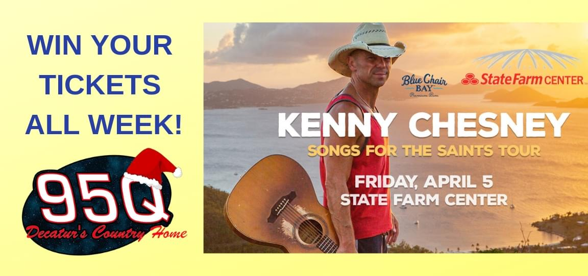All I Want for Christmas is Kenny Chesney Tickets | NowDecatur