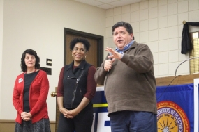 Pritzker's Thank You Tour Stops in Decatur
