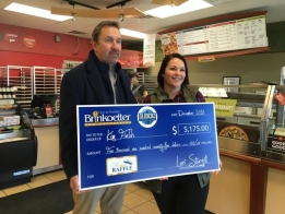 Small Business Owner Planning Trip After Winning Raffle