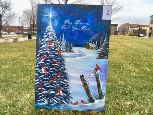 Christmas Card Lane.Johns Hill Entry Wins Christmas Card Lane Contest Nowdecatur