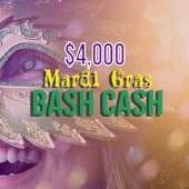 HOT 105.5 $4000 Mardi Gras Bash Cash