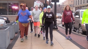 WATCH: Bare as You Dare Beer Mile
