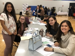 Local Companies Court Students at MacArthur Job Expo