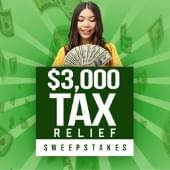 Y103 $3000 Tax Relief Sweepstakes