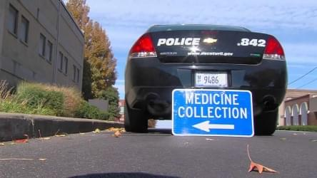 Police Want Your Pills for Take Back Day
