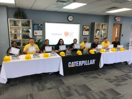 "LISTEN: DPS Students Sign ""Letters of Intent"" for Careers At CAT"