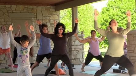 WATCH: Yoga In The Park