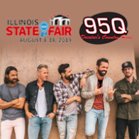 95Q Old Dominion IL State Fair VIP Giveaway