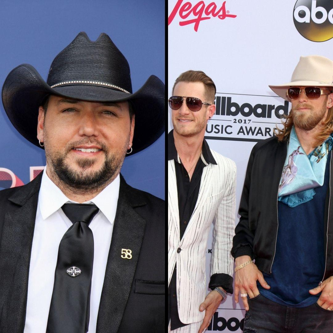 Jason Aldean and Florida Georgia Line Are BFFs Forever