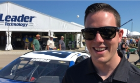 LISTEN: NASCAR Driver Alex Bowman Visits the FPS; Unveils New Paint Scheme