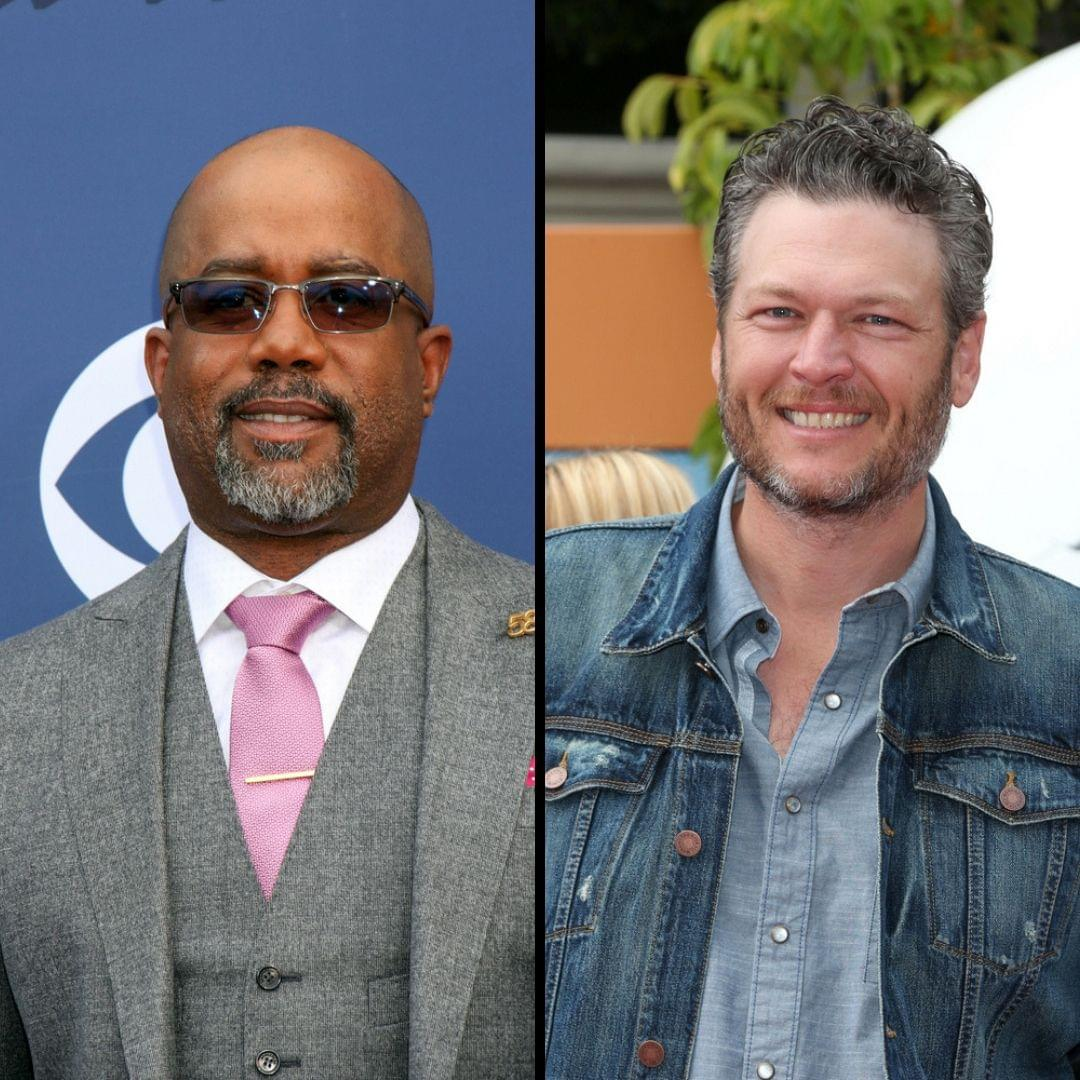 "Darius Rucker Joins Blake Shelton on ""The Voice"""