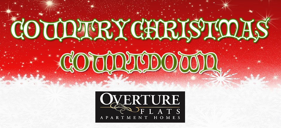 this holiday season k 105 is counting down the best christmas songs with our country christmas countdown presented by overture flats apartment homes - Country Christmas Songs