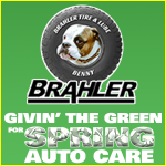 Brahler's Givin' The Green for Spring Auto Care