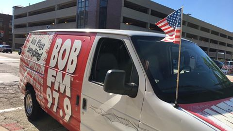 The BOBMOBILE is polished and ready to go.