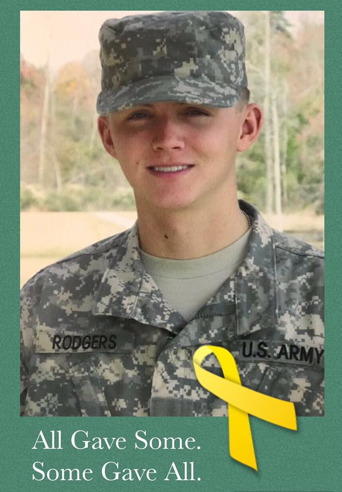 Sgt. Ranger Josh Rodgers.  This year's Mile hits home.