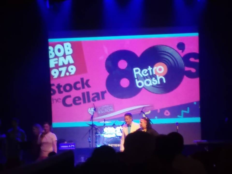 BOB At The 2018 Stock The Cellar Retro Bash