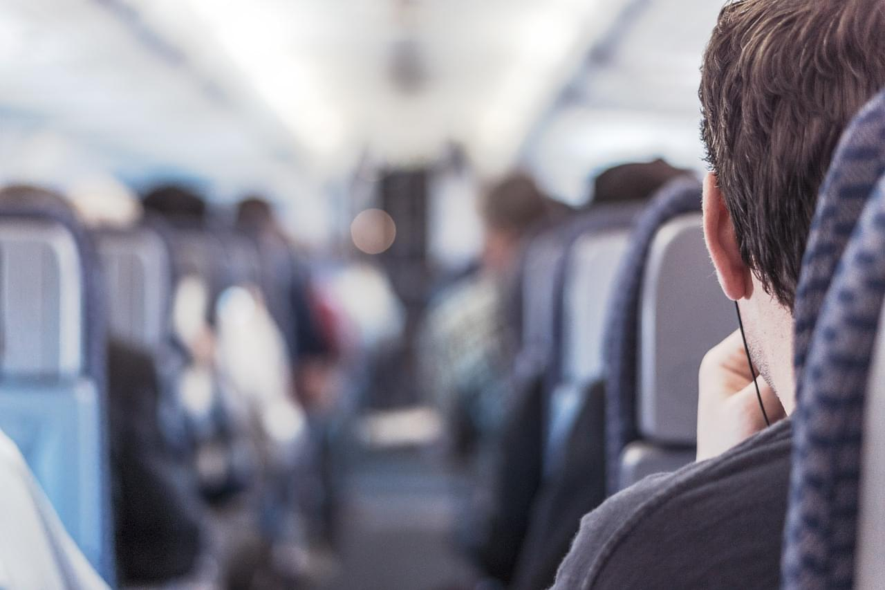 Man Boards Plane Naked, Claims to Make Him More 'Aerodynamic'