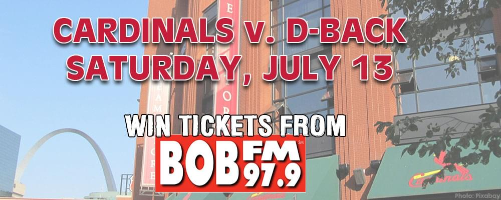 WIN TICKETS TO CARDINALS v. D-BACKS JULY 13 [CONTEST]