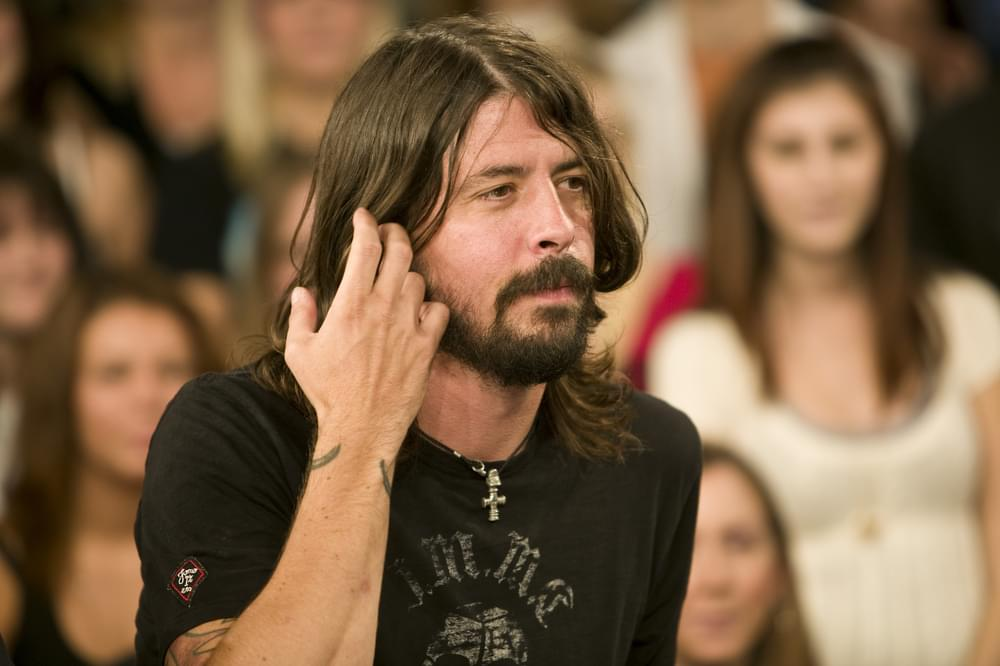 Dave Grohl on MuchMusic's MuchOnDemand at The Chum City Building in Toronto Canada