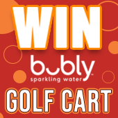 Win the Bubly Golf Cart
