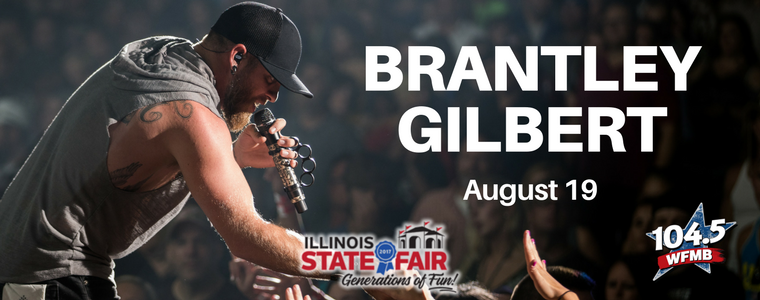 Brantley Gilbert at the Illinois State Fair