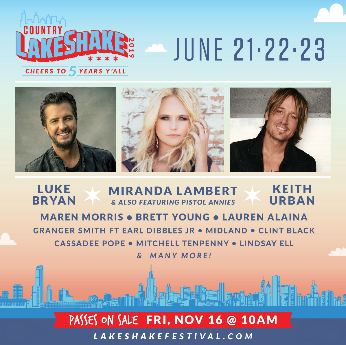 Lake Shake 2019 Announced!!