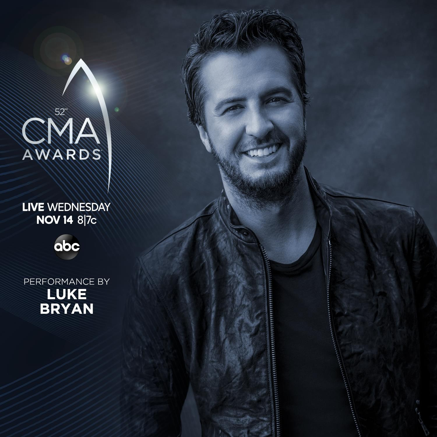 Luke Bryan To Kick Off CMA's