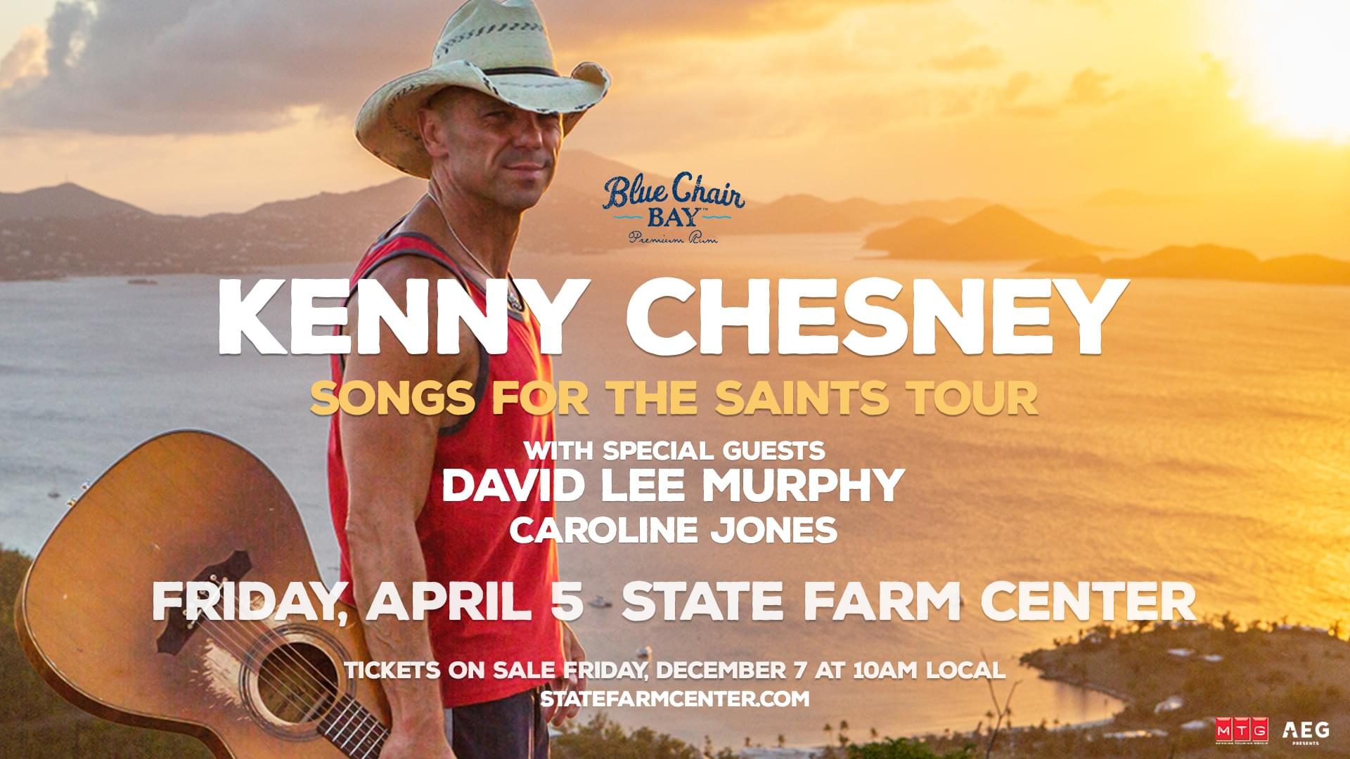 Kenny Chesney Tickets For Champaign On Sale Dec. 7th | WFMB-FM
