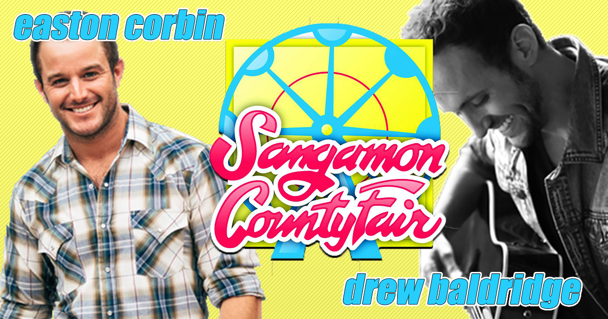 Easton Corbin with Drew Baldridge @ Sangamon County Fair: June 14