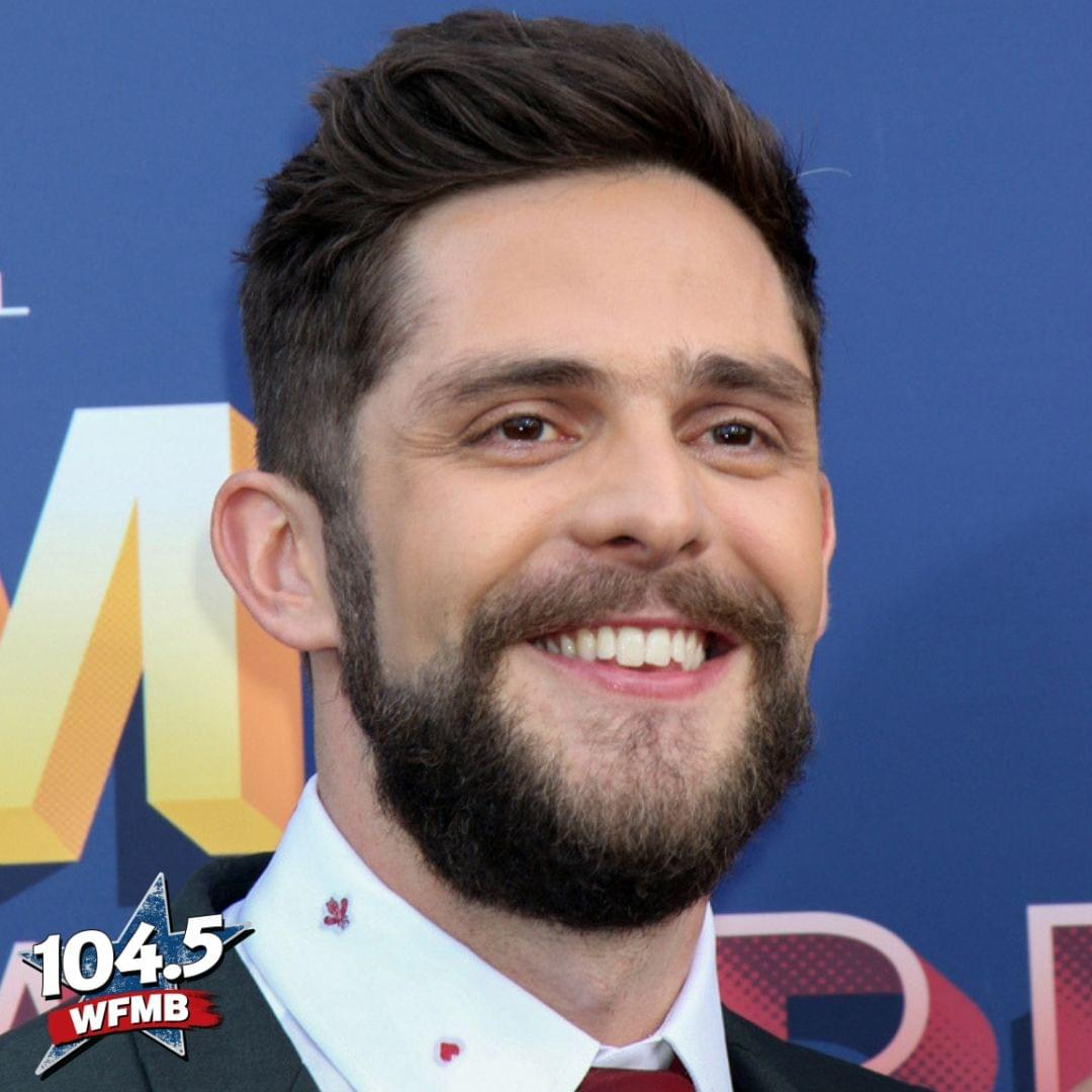 "Thomas Rhett Opens Up About His New Album ""Center Point Road"""