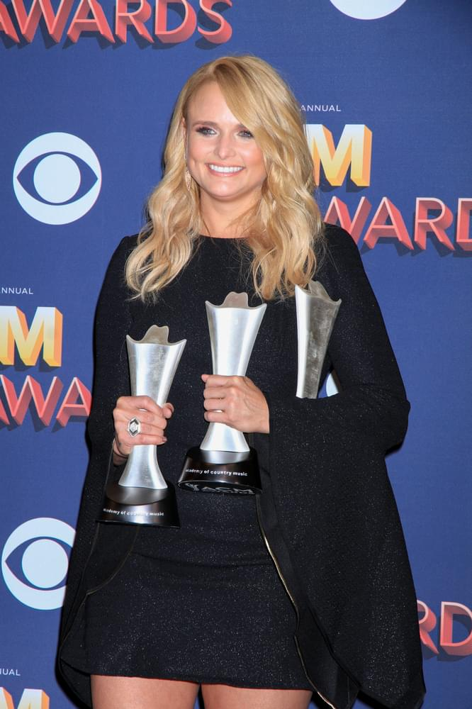 "World Premiere: Miranda Lambert ""It All Comes Out In The Wash"""