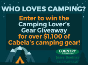 270x200-Email Graphic - Camping Lover's Gear Giveaway