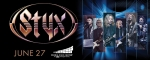 WIN Styx Tickets for June 27 in Peoria!