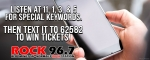 Text & Win Tickets from Rock 96.7