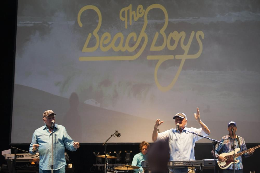 "The Beach Boys ""50 Years of Fun, Fun, Fun"" Tour in Concert at the Universidad Complutense in Madrid - July 21, 2014"