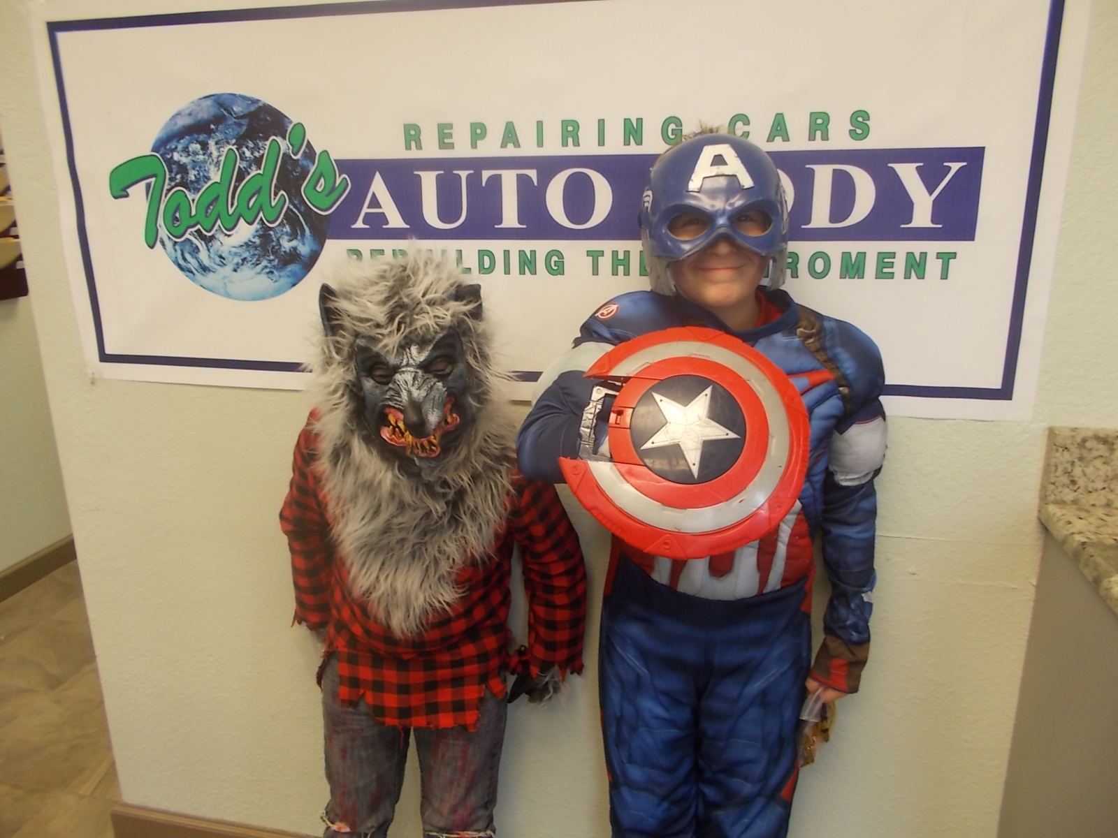 Halloween Pics from Todd's Auto Body