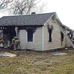Danville Firefighters Battle Another Blaze