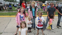 Oakwood July 4th Parade Pictures