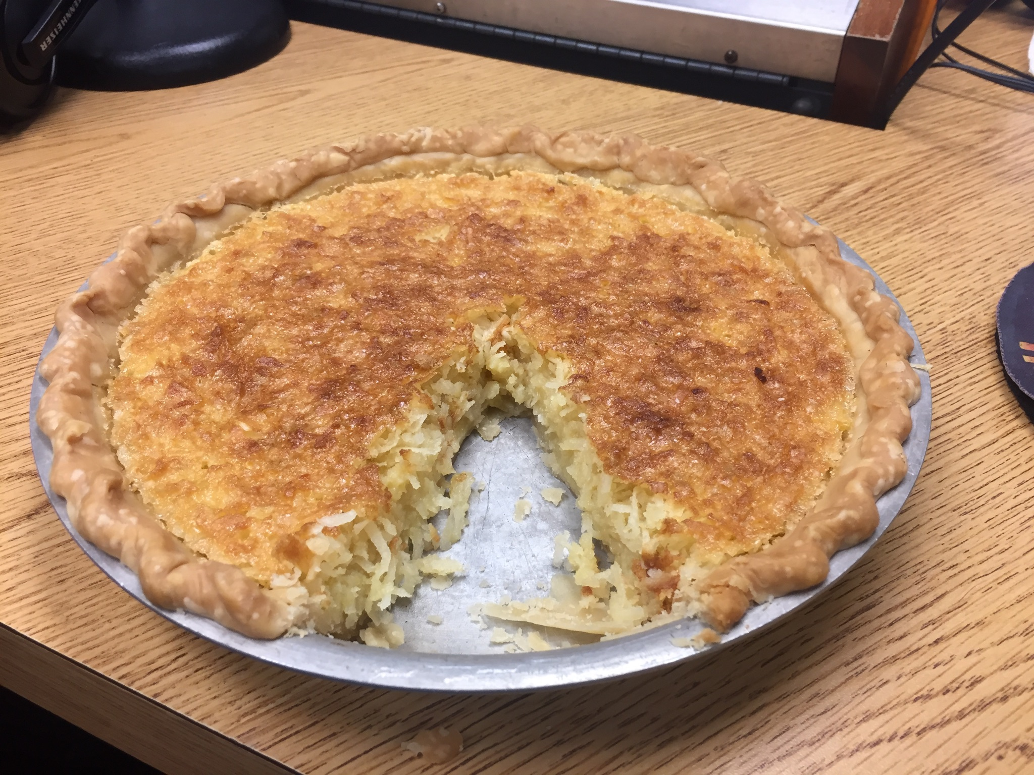 Fresh Coconut Pie