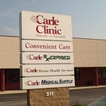 Christie Clinic and Carle to Share Some Records