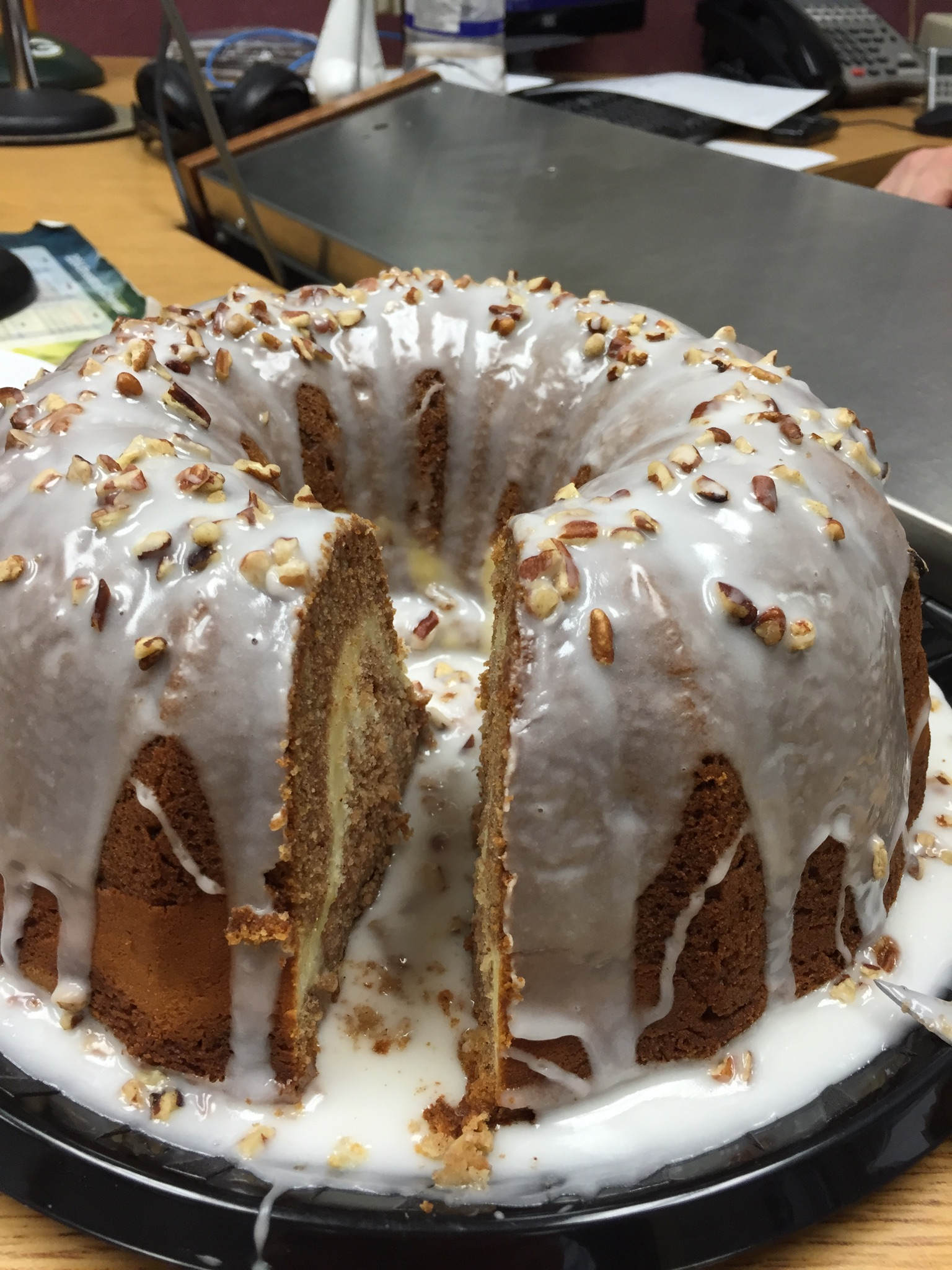 Apple Cream Cheese Swirl Bundt Cake 9/16/2016 | WDAN-AM