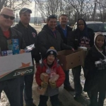 Danville Firefighters and Edison Elementary Team Up for Food Drive