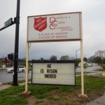 Salvation Army Short of Christmas Goal