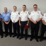 Danville Fire Department Sees Six Promotions