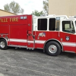 Danville Firefighters Douse House Fire